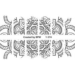783  Sticker Sweetbloom  1-574