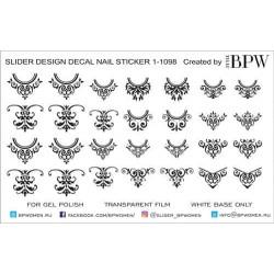 799 Stickers negros -...