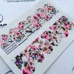 Stickers Flores + Foils 2-159