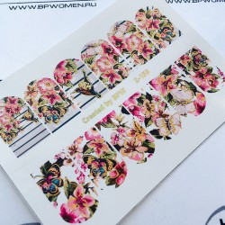594   Stickers Flores +...