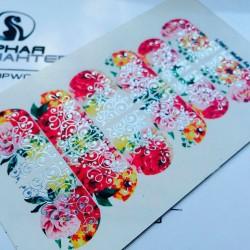 Stickers Flores + Foils 100_1
