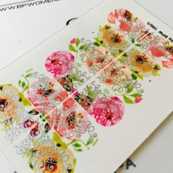 Stickers Flores + Foils 100_5