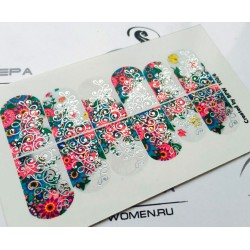 Stickers Flores + Foils 100_6