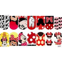 493  Minnie Mouse 3257