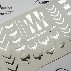 621  Sticker foil  2-44