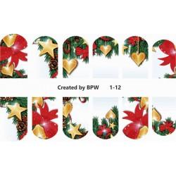 Stickers Navideños 1-12