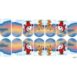 315  Stickers Navideños  3157