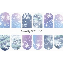 Stickers Navideños 1-5