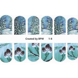 Stickers Navideños 1-8