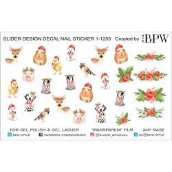 Stickers Navideños 1-1253