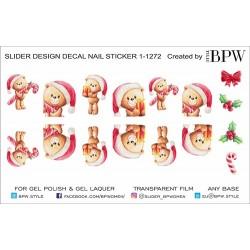 Stickers Navideños 1-1272