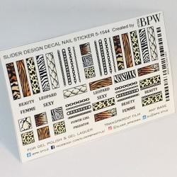 892  Sticker animal print...