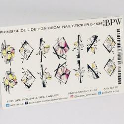 Sticker flores 5-1534