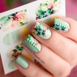 Sticker flores 1-144