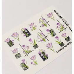 065   Sticker 3d azafrán 3d272