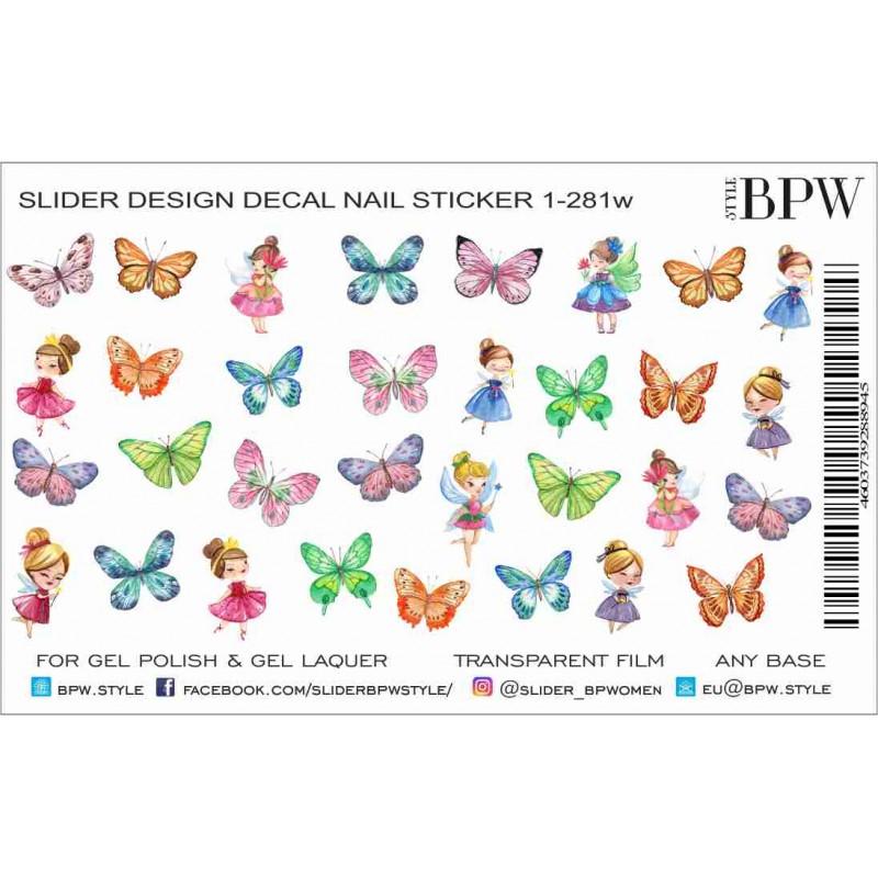 Sticker Hadas Mariposas 1 281