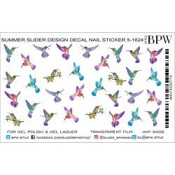 440  Sticker colibrí 5-1624