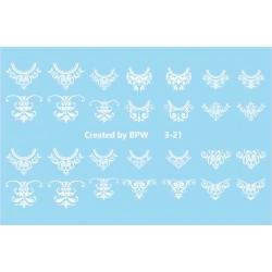 571   Sticker blanco 3-21