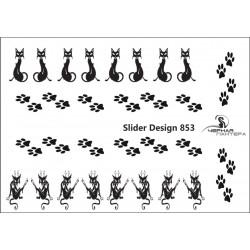488 Sticker gatos 853