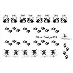 489  Sticker gatos 859