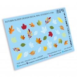 Sticker hojas otoño 5-1709