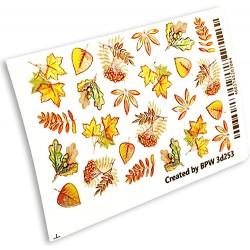 Sticker 3dflas hojas de...