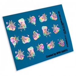Sticker 3d flash 3d2015