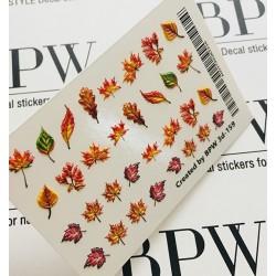 Sticker hojas de otoño 3d159