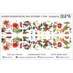 307 Sticker Navidad 1-1248