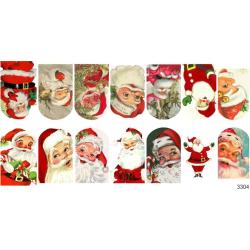323 Sticker Papa Noel 3304