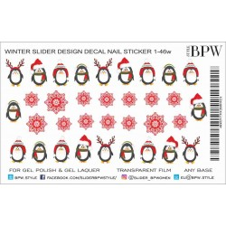 366 Sticker Pinguinos 1-46