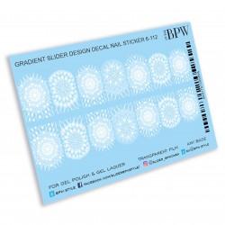 405 Sticker copos de nieve...
