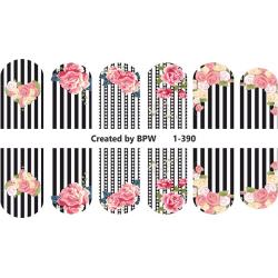 423  Sticker flores 1-390