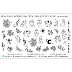 466 Sticker Women 1-1641