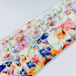 Termo stickers Flores T102