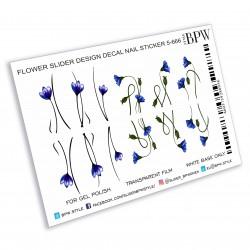 960  Flores azules 1-666