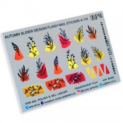 1030  Flash hojas  4-116