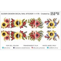 1055 Sticker flores 1-1178
