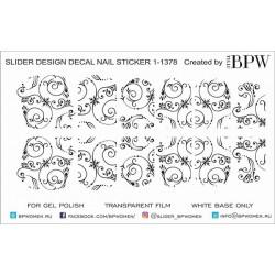 1058  Sticker monograma 1-1378