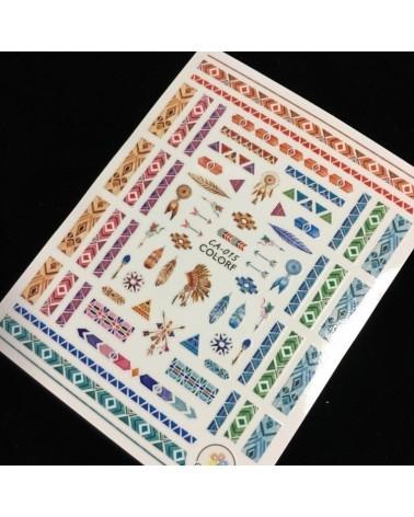 1164  Sticker Navideño 5-1822