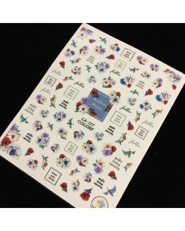 1165  Sticker Navideño 5-1815