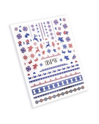 1167  Sticker Navideño  5-1825
