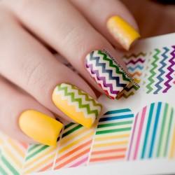 Stickers para uñas...