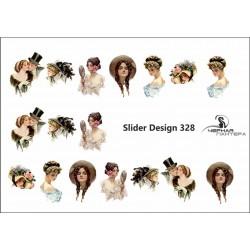 Stickers de uñas Vintage 328
