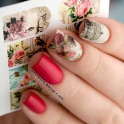 Stickers de uñas Vintage 3433