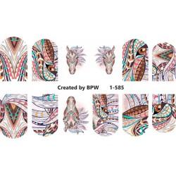 Stickers Ethnicos 1-585