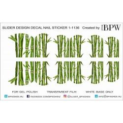 Stickers Bambu 1-1136