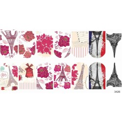 872  Stickers Paris  3426