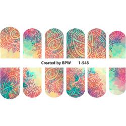 Stickers Adorno Paisley 1-548