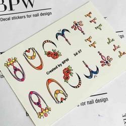 096    Stickers 3D-mini 3d37